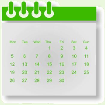icon of calendar