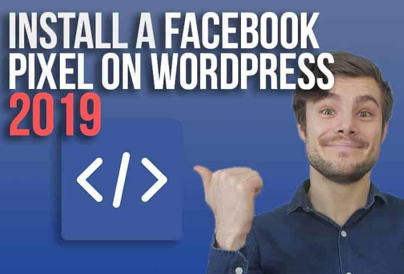 Pointing at Facebook Pixel 2019
