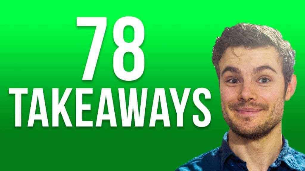 78 marketing takeaways