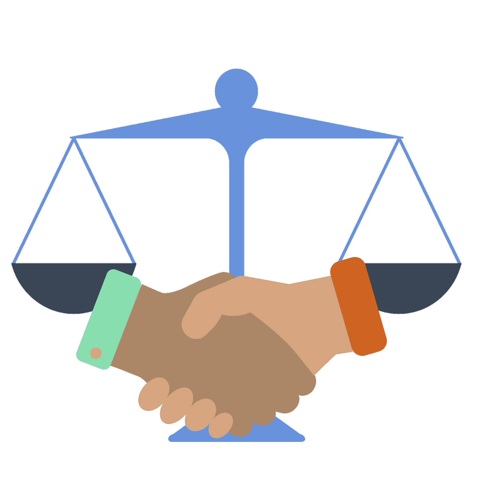 Handshake showing trust and integrity