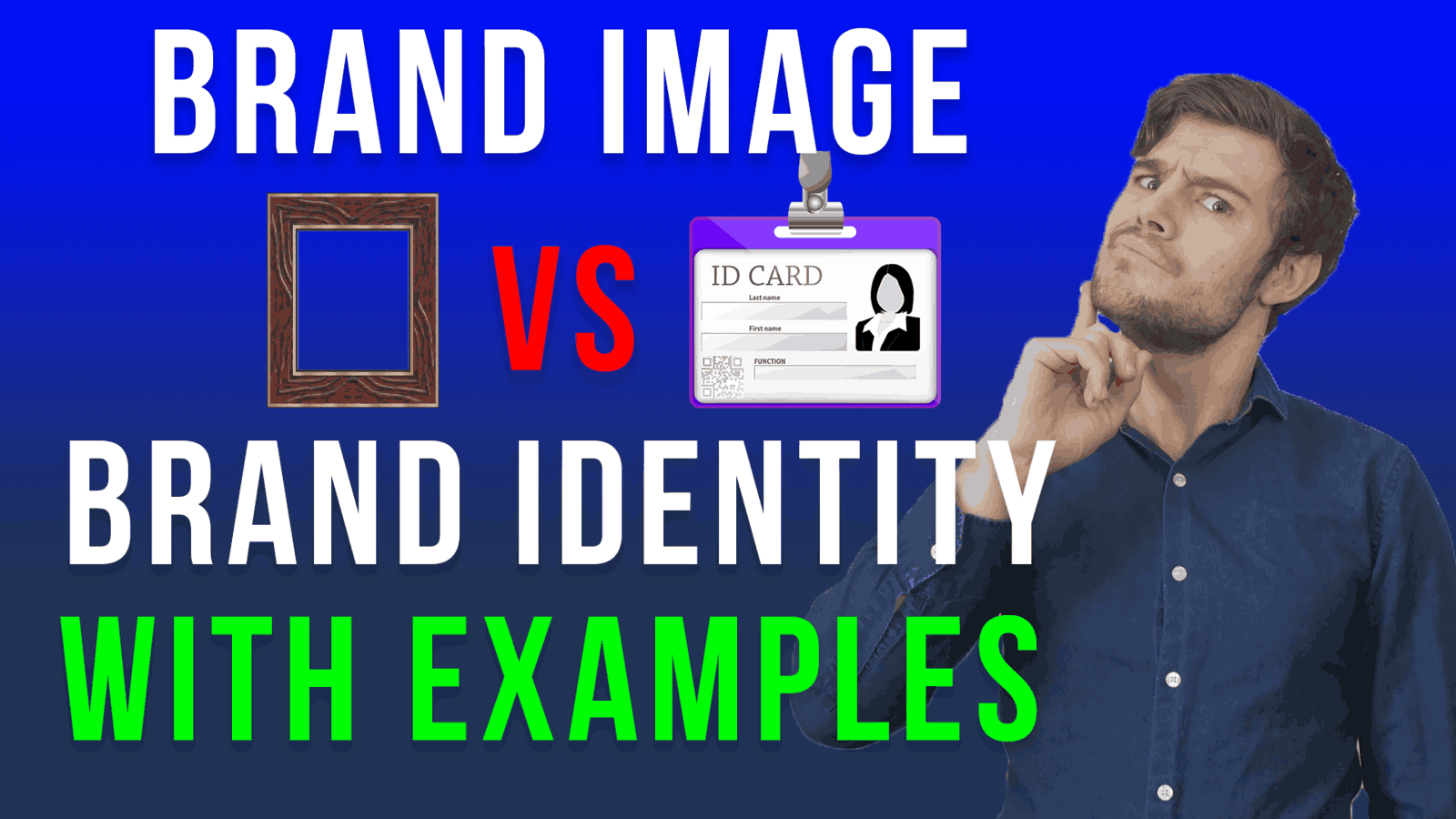 brand image vs brand identity with examples