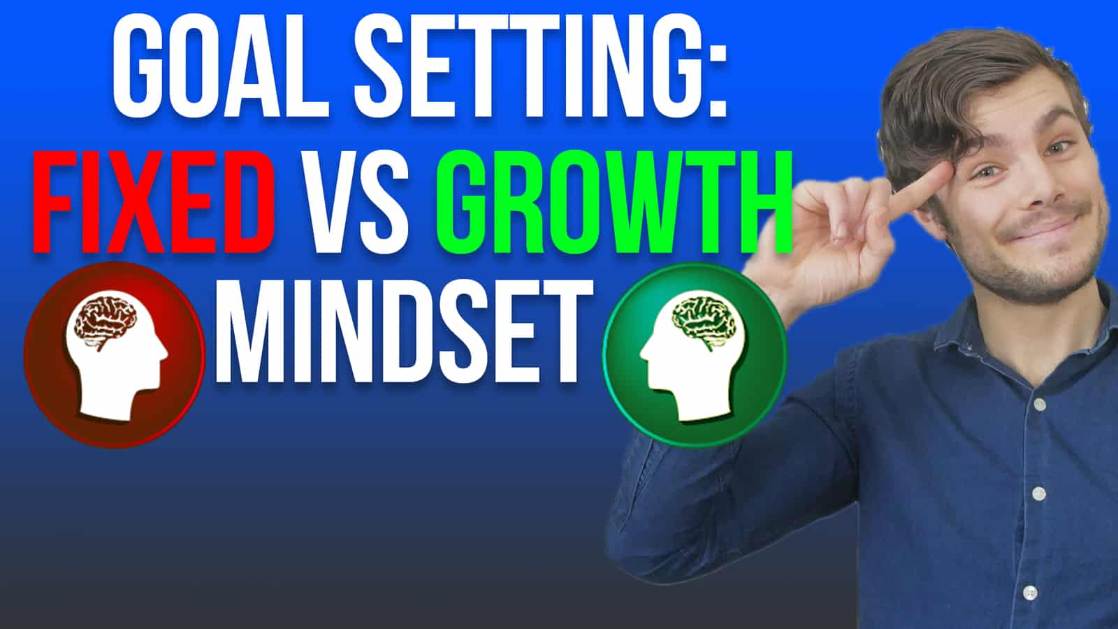 goal setting fixed vs growth mindset