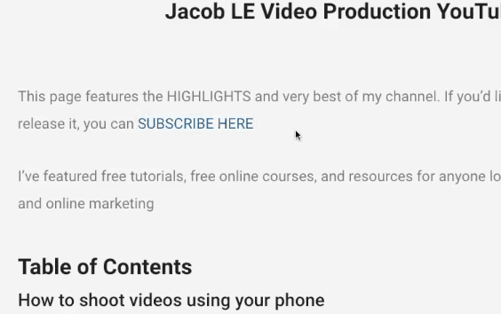 button to auto subscribe screenshot