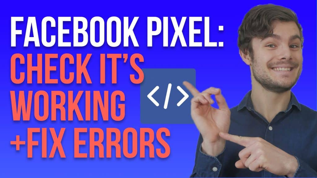 Jacob LE pointing at facebook pixel