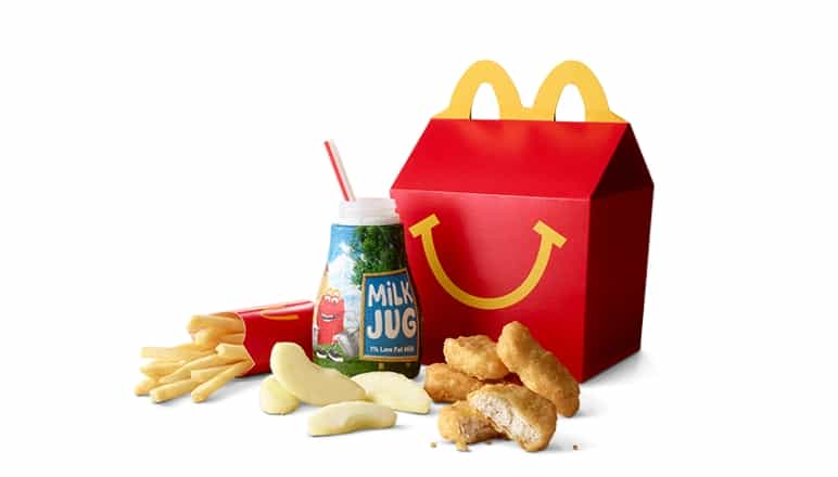 Happy meal from McDonalds