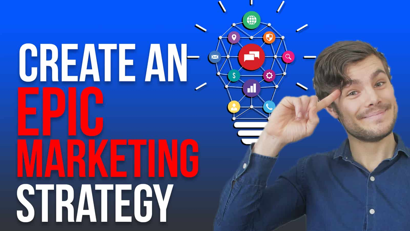 create an epic marketing strategy lightbulb