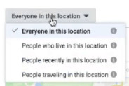 """""""everyone in this location"""""""