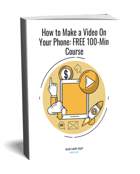 Video with phone course