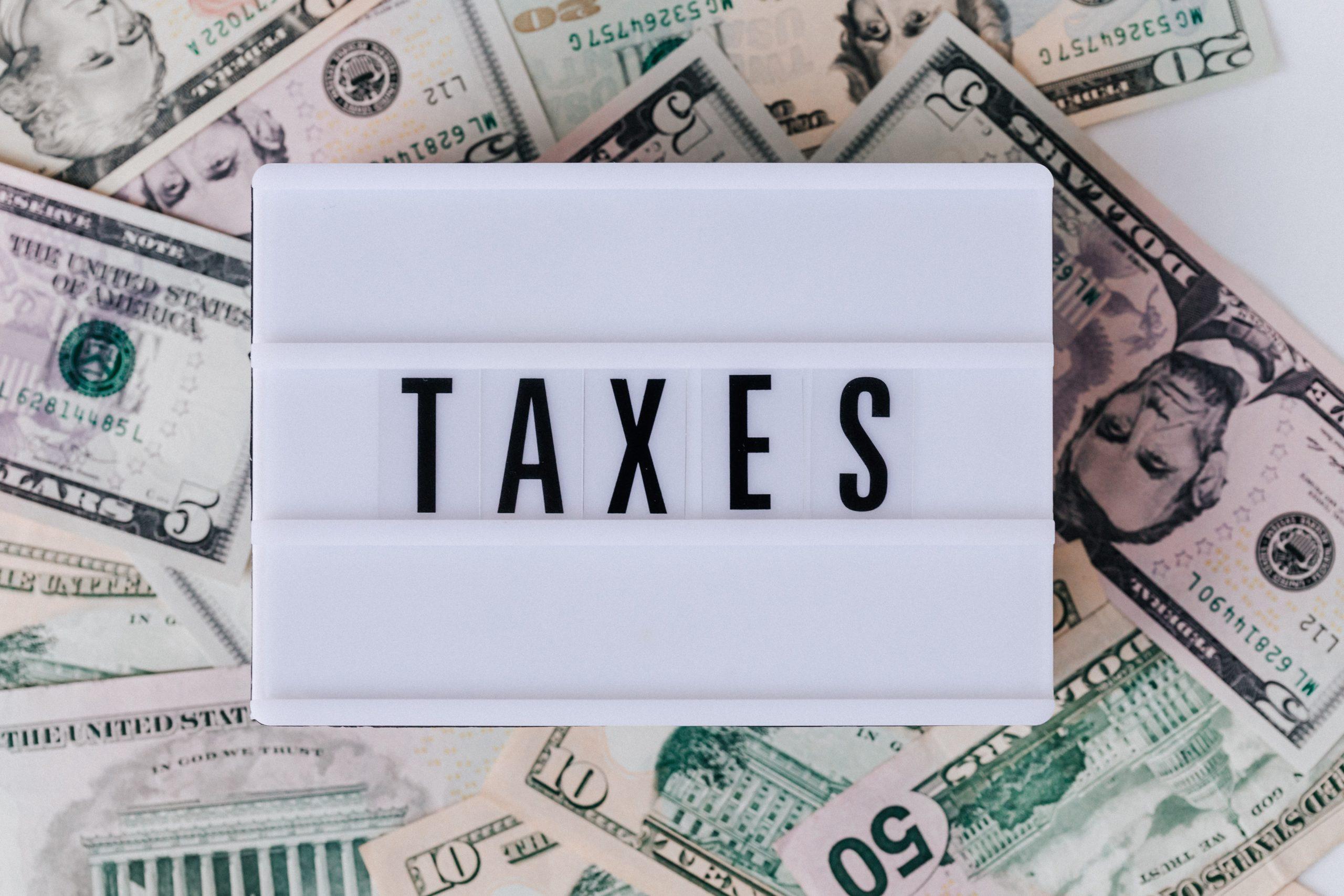 taxes money